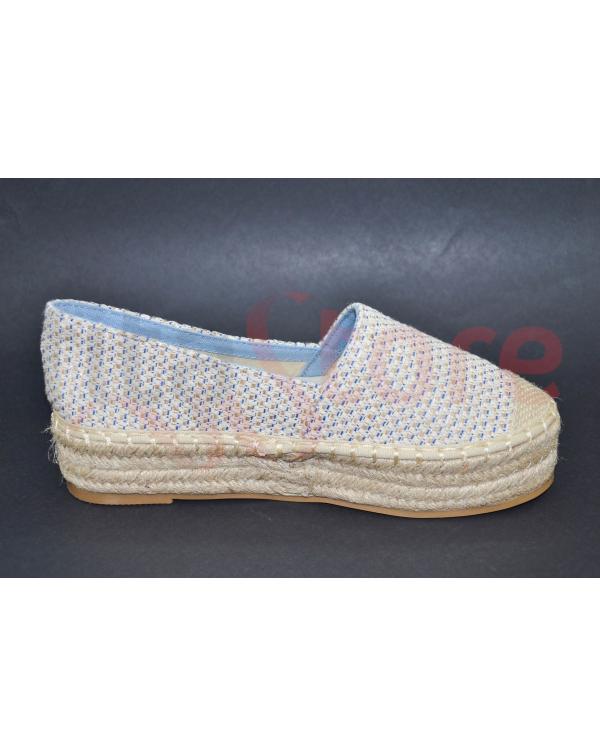Lapierce rope-soled sandals